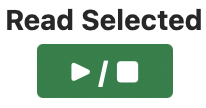 Picture of the Read Selected play and stop buttons